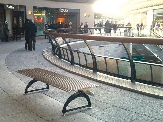 Libre Piana by Metalco | Exterior benches