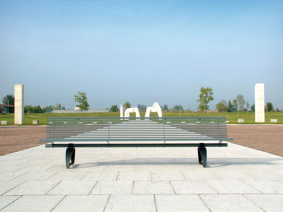 Libre 3000 by Metalco | Exterior benches