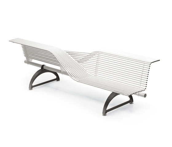 Libre Torsion by Metalco | Exterior benches