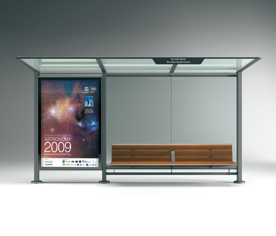 Pensilis by Metalco | Bus stop shelters