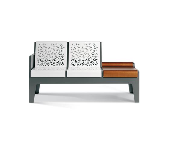Serie Tripoli Magna by Metalco | Garden benches