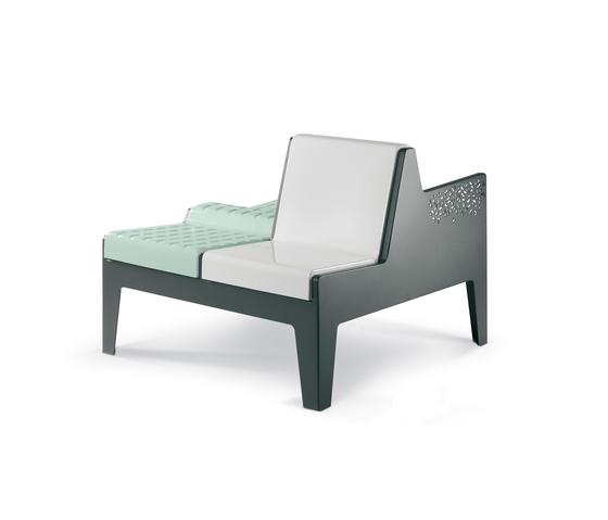 Serie Tripoli Siwa by Metalco | Garden benches