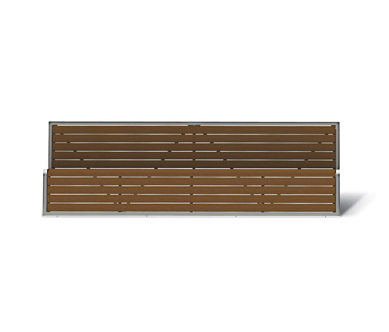 Slide by Metalco | Exterior benches