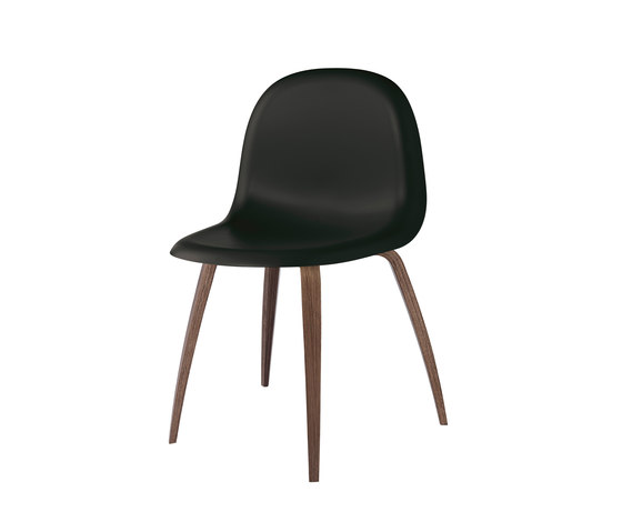 Gubi Chair – Wood Base de GUBI | Sillas para restaurantes