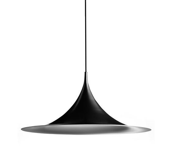 Semi Pendant L | Matt black by GUBI | General lighting