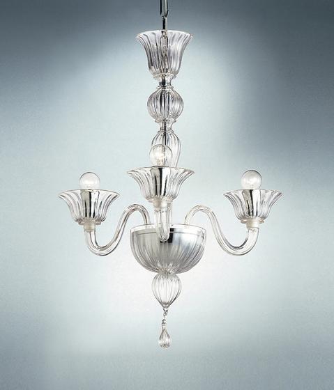 Ca' Donà - 3 lights chandelier von A.V. Mazzega   Deckenlüster