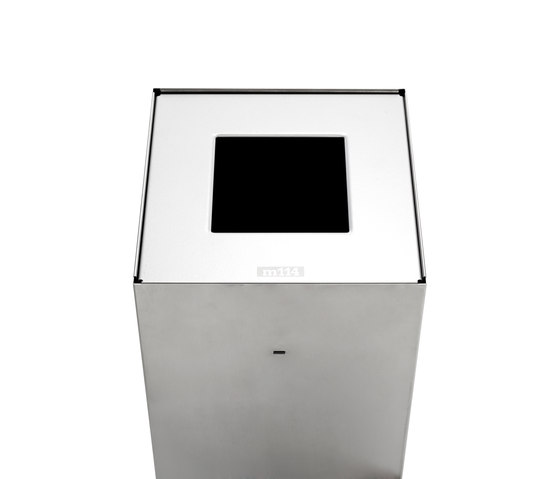 Riga | waste bin inox 20 by Mobles 114 | Waste baskets
