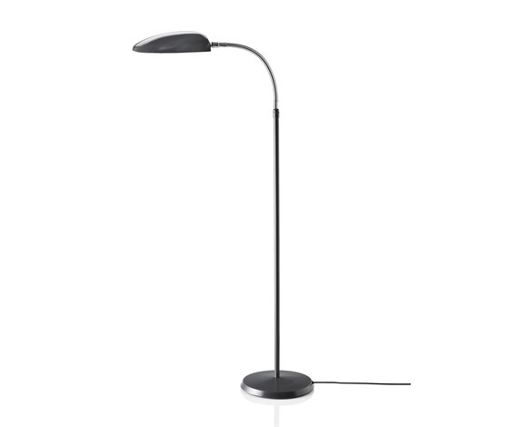 Cobra Floor lamp | Anthracite Grey di GUBI | Lampade da lettura