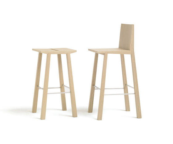 Woody BQ 1253 by Andreu World | Bar stools