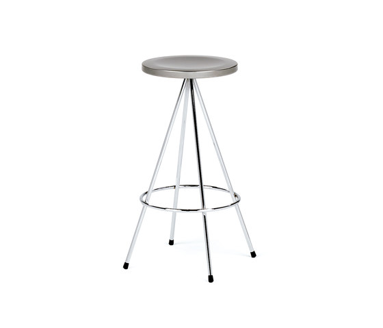 Nuta | steel stool 60 by Mobles 114 | Ottomans