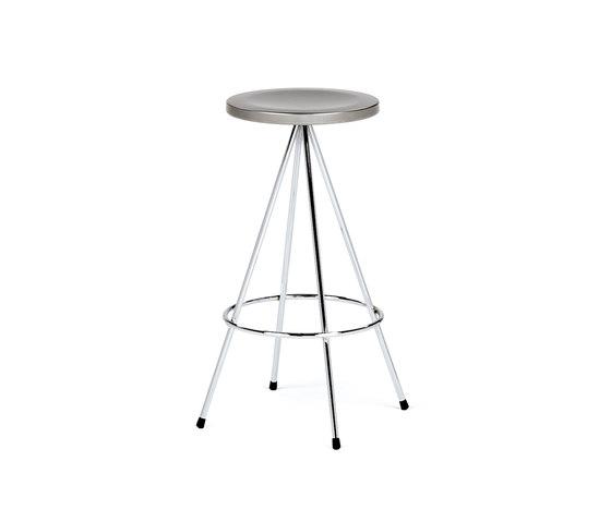 Nuta | taburete cromado 60 de Mobles 114 | Taburetes de bar