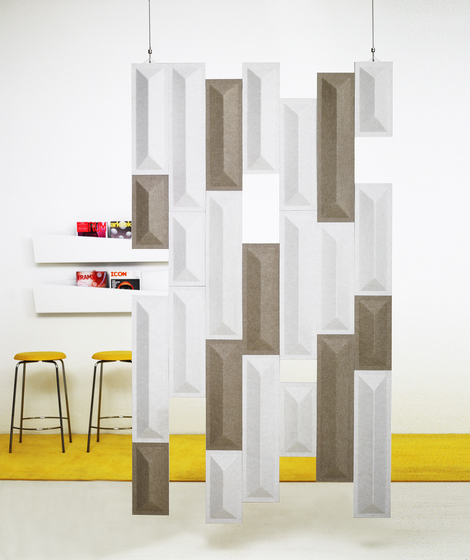 Quartz QZD12 free-hanging by Karl Andersson | Space dividers