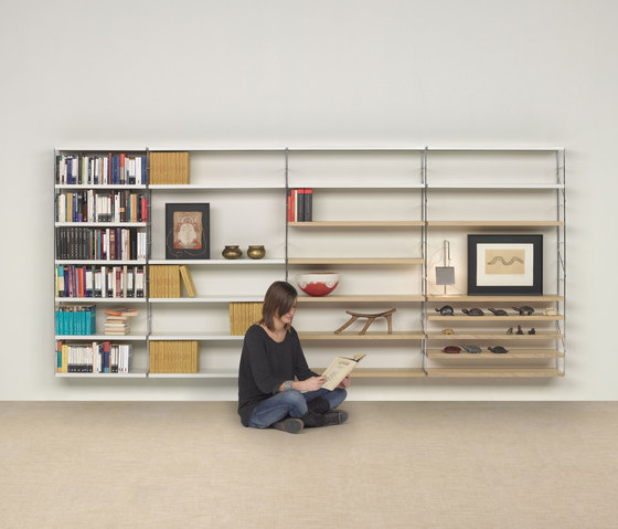Tria 24 wall system by Mobles 114 | Office shelving systems