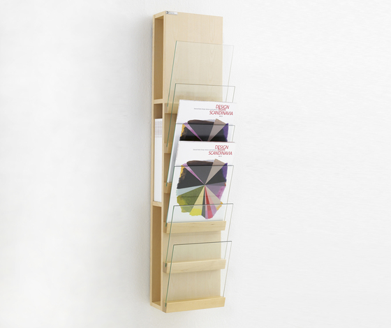 Front Storage FRFT 2566 by Karl Andersson | Brochure / Magazine display stands