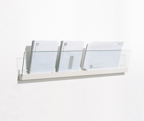 Front Ledge FR3 100 by Karl Andersson | Brochure / Magazine display stands
