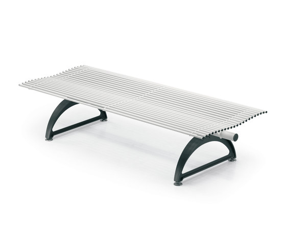Libre Torsion Piana by Metalco | Exterior benches