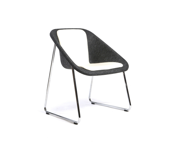Kola light upholstered by Inno | Visitors chairs / Side chairs