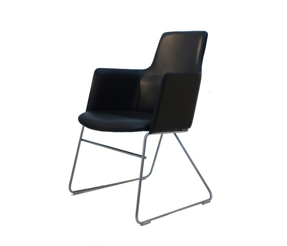 Fortuna low with V-frame by onecollection | Conference chairs