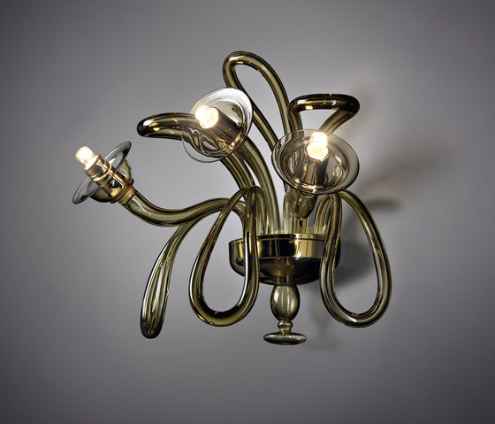 Sloop applique by A.V. Mazzega | Wall-mounted chandeliers