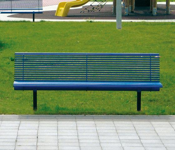 Libre by Metalco | Exterior benches