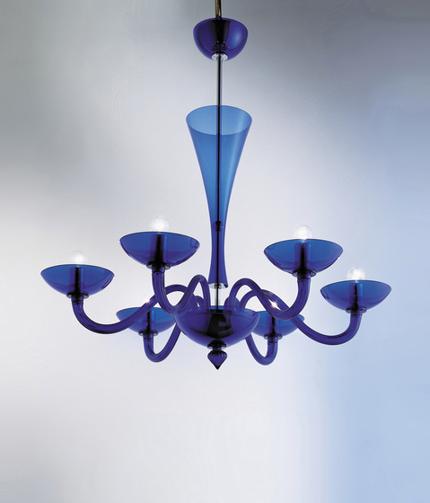 Magia - chandelier by A.V. Mazzega | Ceiling suspended chandeliers
