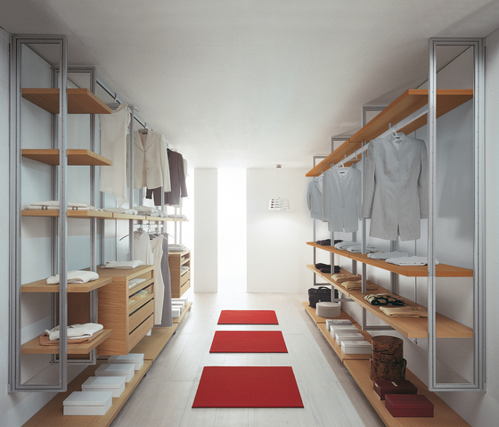 Cabina armadio Dossier 2 by Former | Walk-in wardrobes