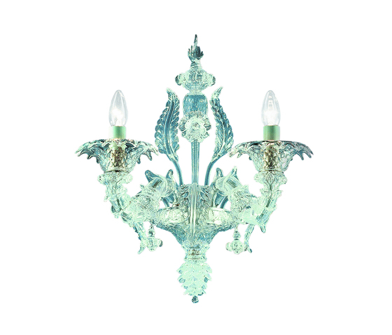 Rezzonico - wall lamp - 2 lights by A.V. Mazzega | Wall-mounted chandeliers
