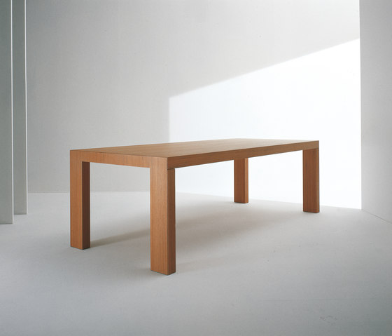 Long Teak table by Former | Dining tables