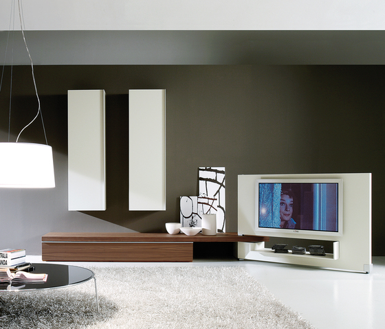 Plinto Composizione 411 by Former | Wall storage systems
