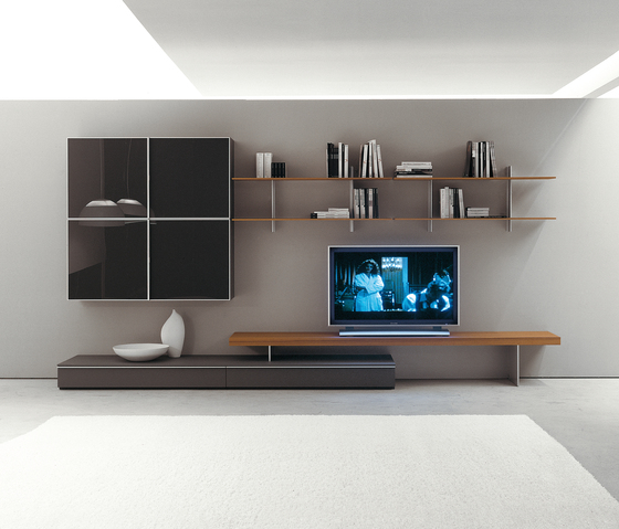 Plinto Composizione 243 by Former | Wall storage systems
