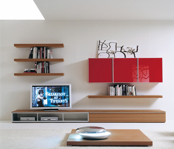 Plinto Composizione 248 by Former | Wall storage systems