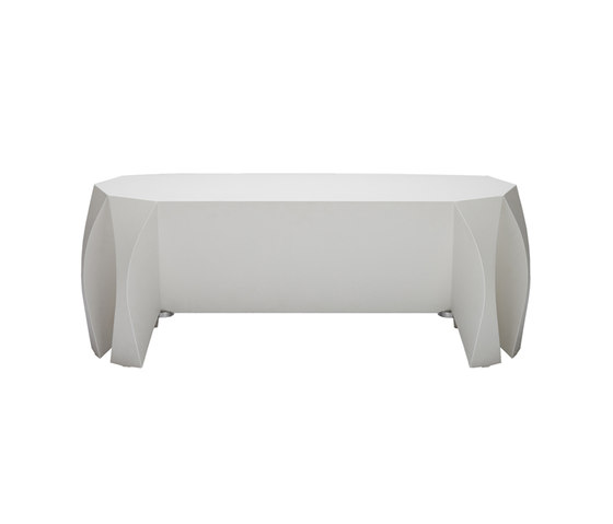 NOOK bench white de VIAL | Bancs de restaurant