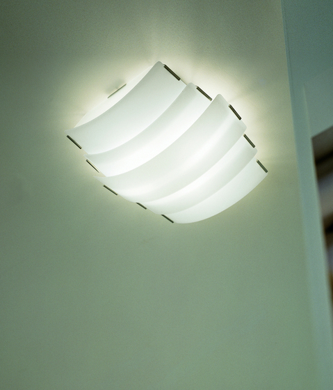 Trio - ceiling lamp by A.V. Mazzega | General lighting
