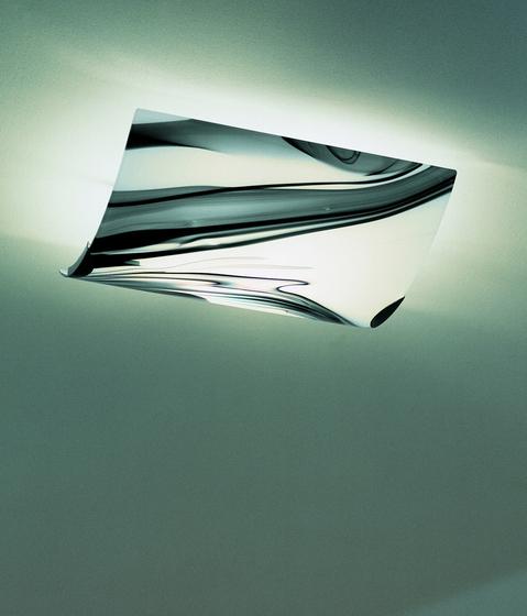 White & Black - ceiling lamp von A.V. Mazzega | Allgemeinbeleuchtung