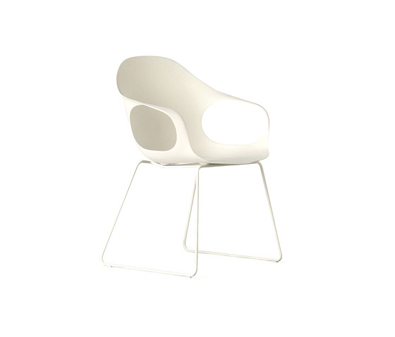 Elephant white by Kristalia | Restaurant chairs