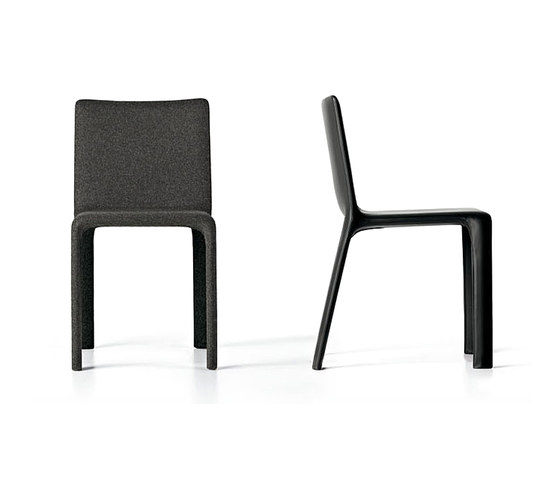 Joko soft leather by Kristalia | Visitors chairs / Side chairs