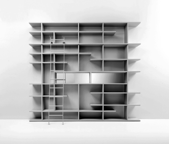 Set System bookcase by Former | Office shelving systems