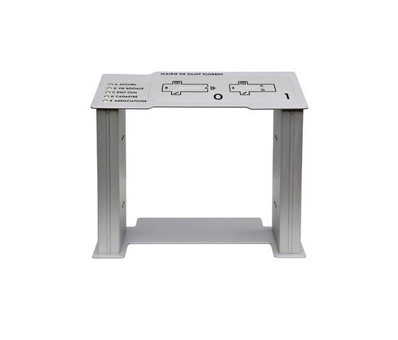 vak table de Marcal Signalétique | Wayfinding