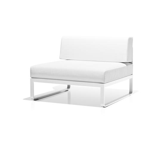 Sit centre module by Bivaq | Garden armchairs