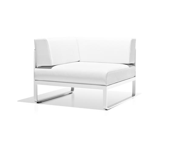Sit corner module by Bivaq | Garden armchairs