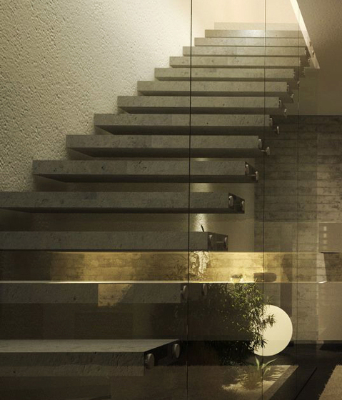 Concrete stair by Siller Treppen | Concrete stairs