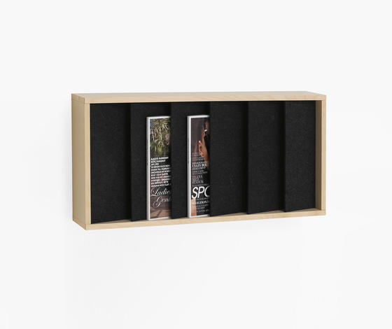 Ridå RIV14 by Karl Andersson | Brochure / Magazine display stands