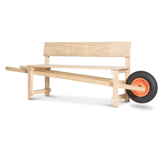 Wheelbench by Weltevree | Benches
