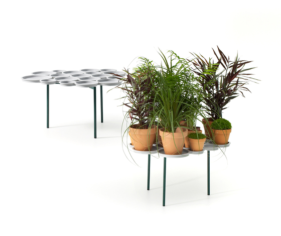Green Pads by OFFECCT | Plant holders / Plant stands