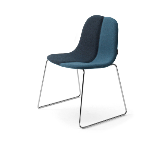 Duo Stackable chair di OFFECCT | Sedie visitatori