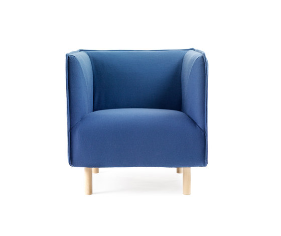 Kvilt Easy chair de Gärsnäs | Sillones lounge