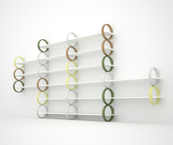 Flying Rings by Gärsnäs | Shelves