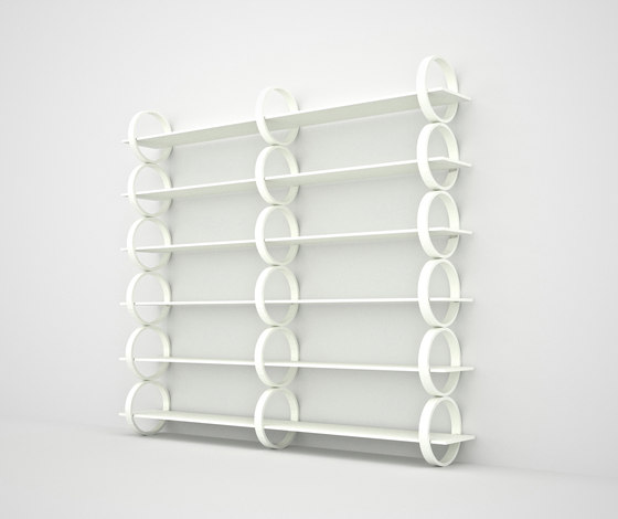 Flying Rings by Gärsnäs | Shelving
