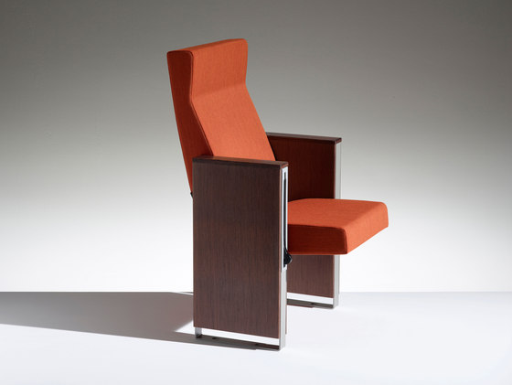 C100 with high backrest by Lamm | Auditorium seating