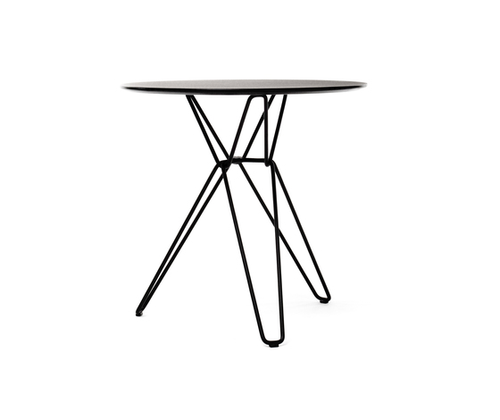 Tio Circular Café Table Laminate by Massproductions | Cafeteria tables
